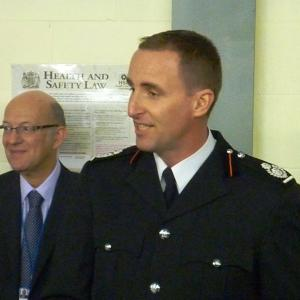 Chief Fire Officer Hardingham