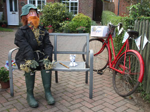 Scarecrow Trail 2017 winning entry - Old Ginger